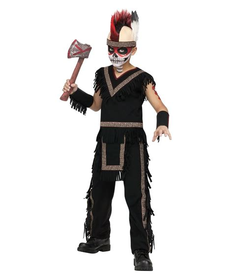 boys indian warrior halloween costume boys costumes