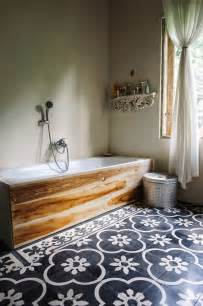 Tiles or the wood framed bath tub either way i m all over it via