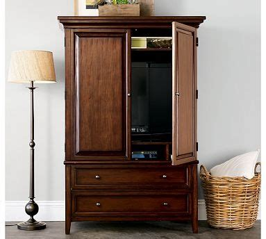 hudson armoire hudson armoire from pottery barn bungalow guest bedroom