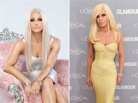 Donatella Versace Tells Clinton To Take by Take Gershon Becomes An Uncanny Of