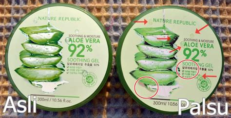 Harga Counter Nature Republic Aloe Vera cara paling uh membedakan nature republic aloe vera