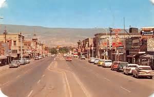 Home Interior Cowboy Pictures by Delta Colorado Business District Vintage Postcard J10907
