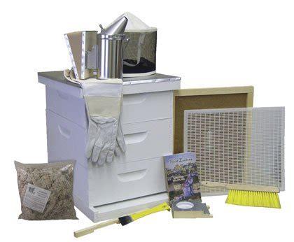 Beekeeping Supplies Buildabeehive C52501p Premium Beehive Starter Kit