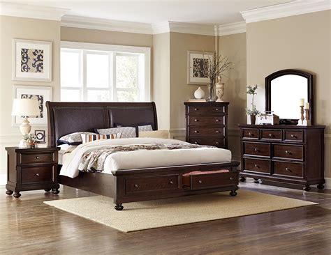 bedroom sets for less homelegance faust upholstered sleigh platform storage