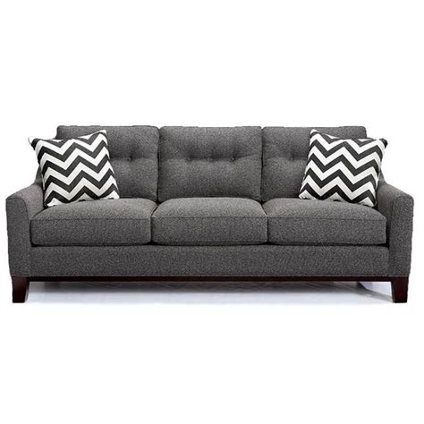 gray modern couch contemporary gray sofa nebraska furniture mart mid