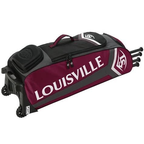 louisville slugger series 7 rig wheeled players bag ebay