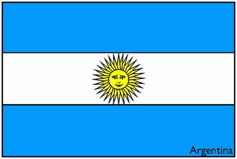 bandera de argentina para colorear para imprimir gratis bandera de argentina para colorear colorearrr