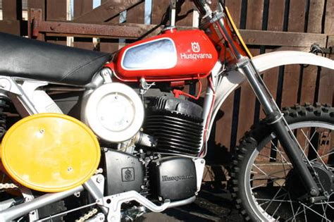 motocross bikes for sale scotland 1973 pre 74 husqvarna cr400 twinshock motocross bike sold