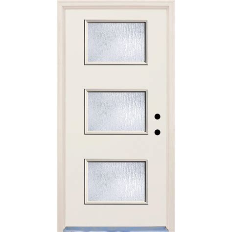 builder s choice 48 in x 80 in 10 lite clear wood pine builder s choice 36 in x 80 in 3 lite rain glass