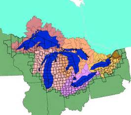 united states map with great lakes great lakes facts and figures the great lakes us epa
