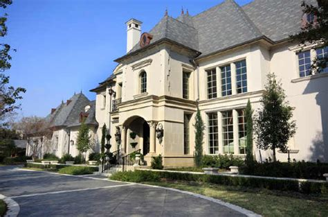french country mansion french country mansion in dallas homes of the rich