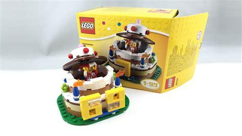 Birthday Cake Set by Lego Birthday Cake Set Review 40153