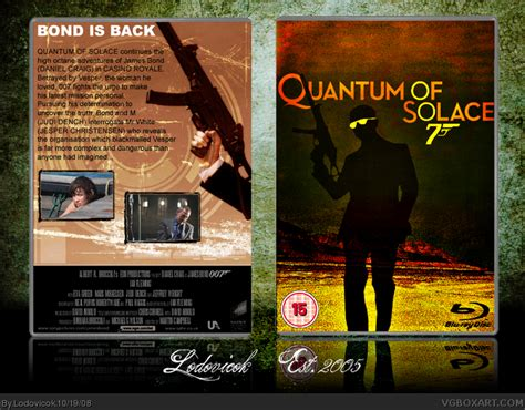 quantum of solace film music quantum of solace movies box art cover by lodovicok