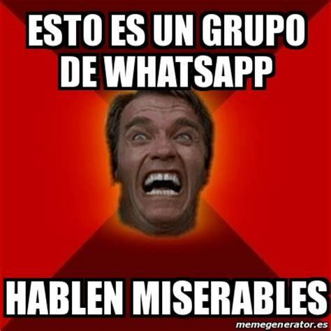 imágenes para perfil de un grupo de whatsapp meme arnold esto es un grupo de whatsapp hablen