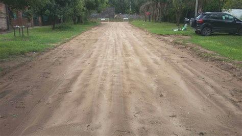las calles de arena jos 233 corral on twitter quot primera lluvia intensa luego instalar a prueba geoceldas en calles de