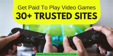 Paid To Play get paid to play 30 trusted