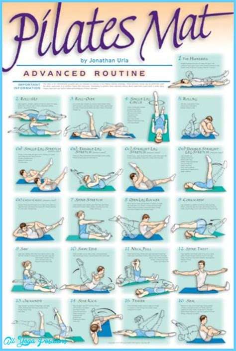 pilates exercises for beginners diagrams pilates exercises for beginners all