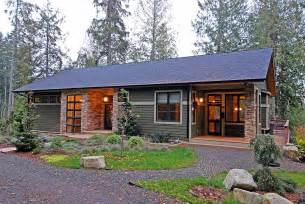 Efficient Home Designs Natural And Energy Efficient House Design On Bainbridge