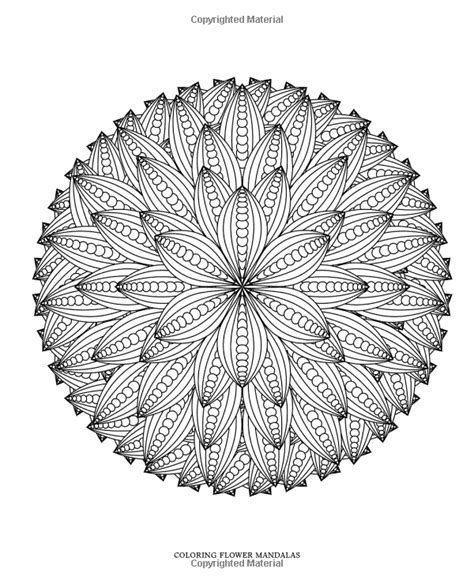 mandala coloring pages for relaxation coloring flower mandalas 30 designs for