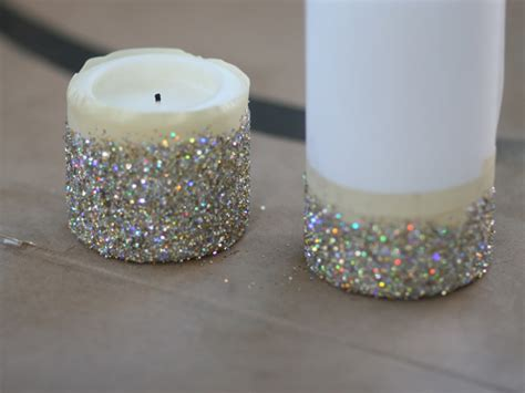 how to make a glitter candle diy home decor 187 the real diy new year s eve glitter candles