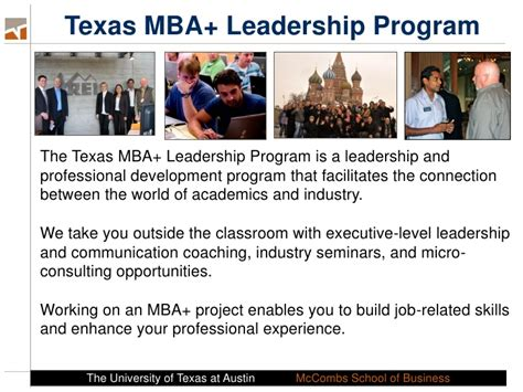 Uarl Mba Program Time by Introduction To The Time Mba Program
