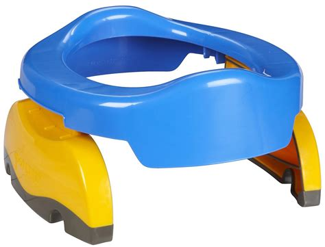Travel Potty Chair 2 In 1 Travel Potty Chair Amp Seat Potette Plus Color Blue