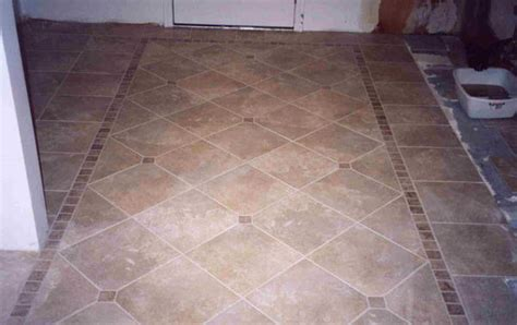 square border for diagonal layout   Ceramic Tile Advice