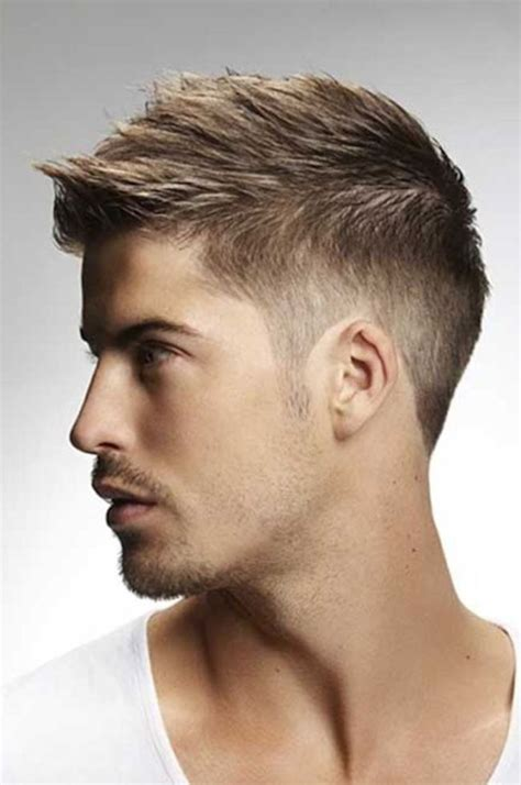 the most suitable hairstyles for boys with short and oval faces top 30 short haircuts for men with thick hair party