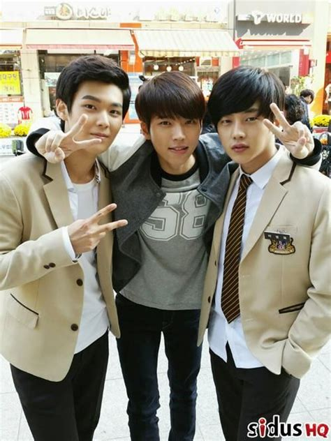 drama nam woohyun film high school love on cast guilty pleasures pinterest