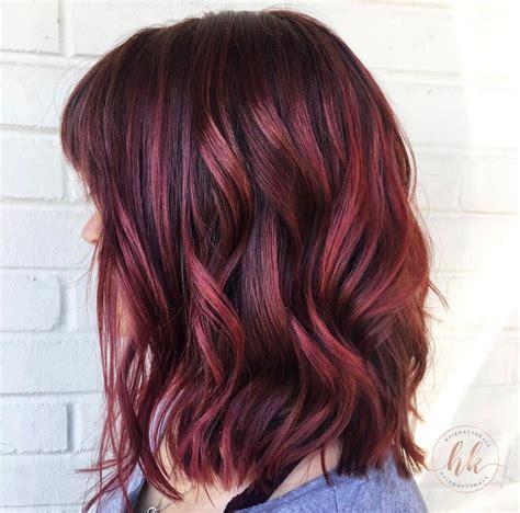 wine hair color mulled wine hair hair portfolio in 2019 wine hair