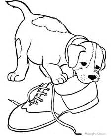 coloring pages dogs puppies az coloring pages
