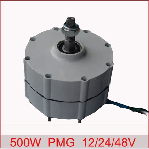 500w ac 24v 50hz permanent magnet generator earth
