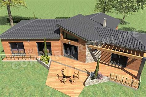 Country Style Home Plans by Application Plan De Maison 1st Level 3 Bedroom Ranch