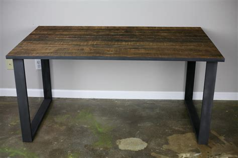 rustic industrial desk combine 9 industrial furniture dining table desk
