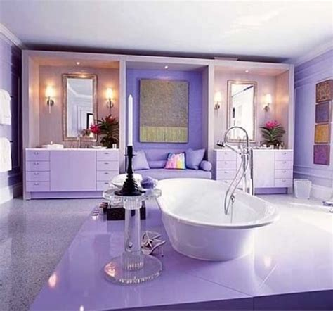 adorable purple bathroom decorating ideas speedchicblog