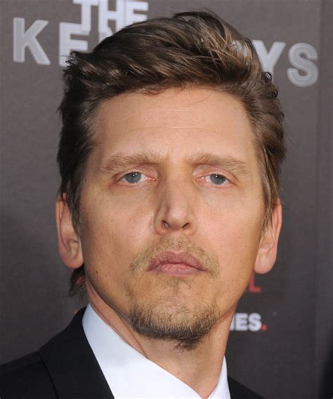 Barry Pepper Short Straight Formal Hairstyle   Dark