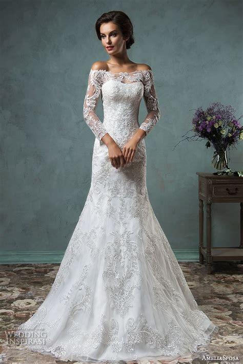 Trendy Wedding Dresses Uk by Trend Alert The Shoulder Wedding Dresses Chwv