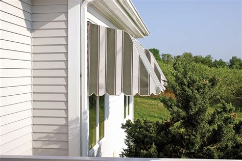 Fabric Awnings For Windows by Fabric Casement Window Awnings Retractable Awning Dealers