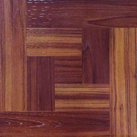 trafficmaster      red oak parquet peel  stick vinyl tile flooring