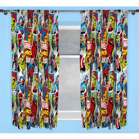 marvel bedding and curtains marvel comics justice duvet cover sets matching 54 quot 72