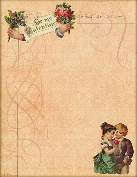 vintage letter template letter paper ldr13
