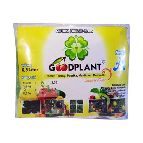 jual goodplant nutrisi hidroponik buah 500 ml 3 pcs