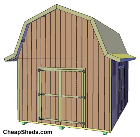 Barn Shed Plans by Build Your Own Shed Shedhelpers
