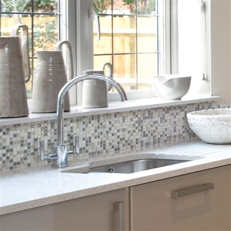 kitchen backsplash mosaic tile 12 awesome backsplashes that aren t tile the family handyman