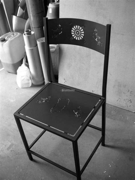 sedie artistiche progetto realizzazione sedie artistiche in ferro battuto