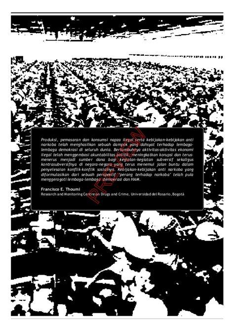Negara Gagal Mengelola Konflik Demokrasi Dan Tata Kelola Konflik Di I refleksi transformatif war on drugs cover preview