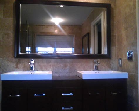 Custom Framed Bathroom Mirror Custom Framed Mirrors For Bathrooms