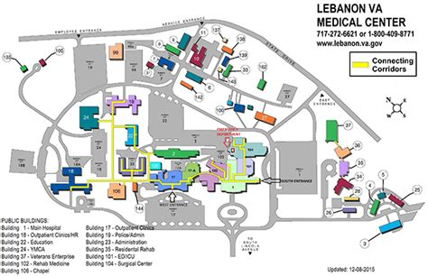 Mather House Floor Plan by Facility Maps Lebanon Va Medical Center