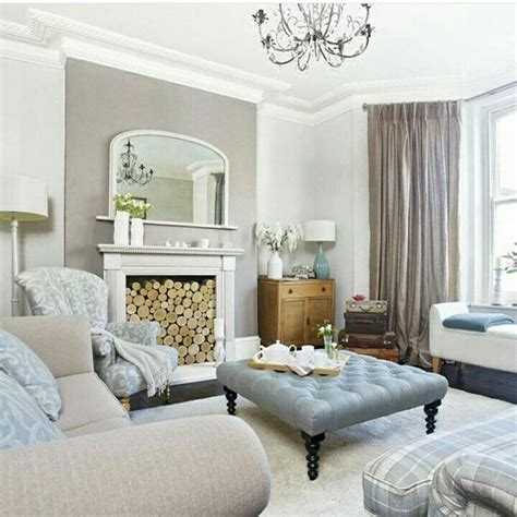 taupe and blue living room instagram regram traditional living room taupe and duck egg blue living space