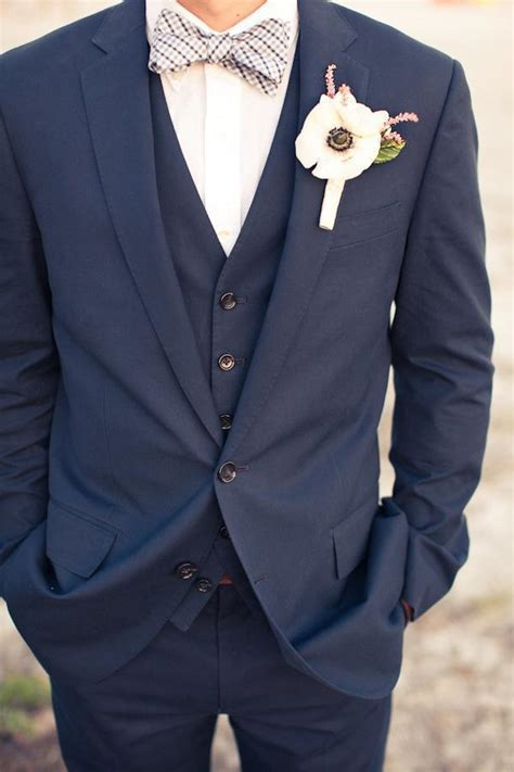 arrival arrival navy groom tuxedos two buttons